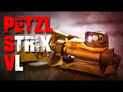 Petzl Strix VL IR Kopflampe Taschenlampe Review Test EDC (Deutsch/German)