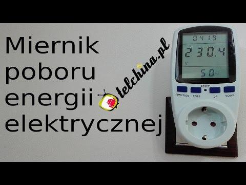 Cena energii elektrycznej miernika ESR-55