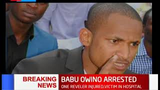 BREAKING NEWS: Babu Owino arrested over a shooting incident at B-Club