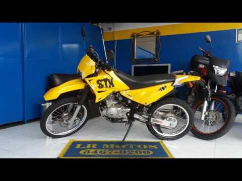 LR Motos - Revisão de Moto Concluida - Sundown STX 200 Amarela - 9488