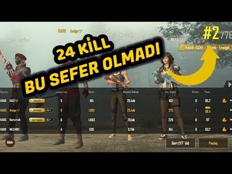 24 KİLL KAOS TEAM CREW CHALLENGE MAÇI / ŞANSIZ SON !!