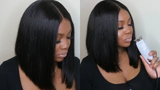 PERFECT BOB HAIR CUT TUTORIAL | WEST KISS