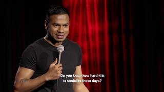Living with Anxiety Disorder (Stand-up Comedy) - YouTube