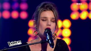 The Voice 2013 | Angelina Wismes VS Fanny Leeb - L'aigle noir (Barbara) | Battle