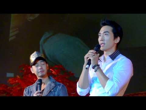 Thailand Fan Meeting - Song Seung Heon cried at stage