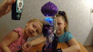 Монстер Хай Астранова светится в темноте, куклы для девочек. Мисс Софи открывает куклу Монстр Хай