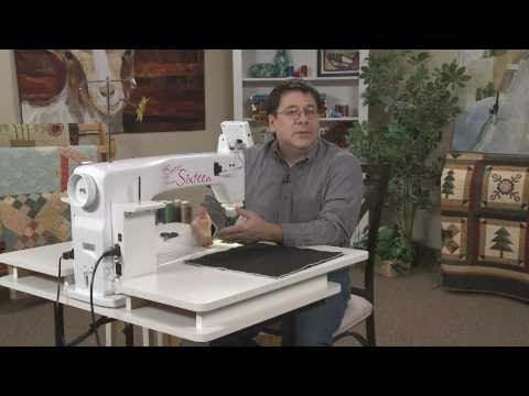 Quilter's Academy Presents David Taylor - Machine Quilting for Beginners (DVD)