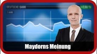 Maydorns Meinung: DAX, Dow Jones, Dt. Bank, Apple, BYD, Tesla, BMW, Ballard Power, Aurora Cannabis