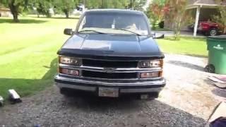 1998 Chevy 1500 Pickup Upgrade: Sylvania zXe (Xenon) Lights Installation