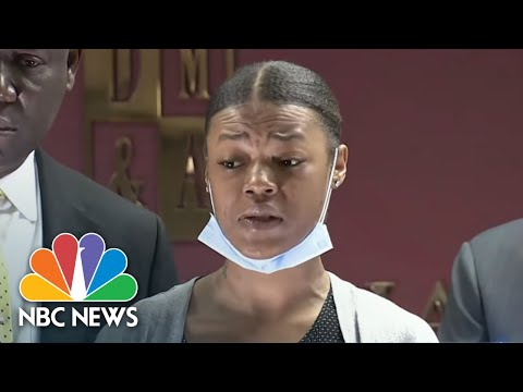 Mother Of 1-Year-Old Hit By Police Gunfire: 'My Son Didn't Deserve This' | NBC Nightly News