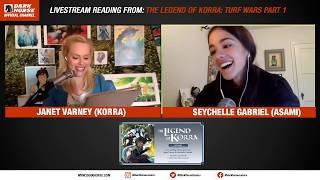The Legend Of Korra: Turf Wars Live Reading With Janet Varney & Seychelle Gabriel [recording]