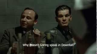 Göring Jokes - Why he doesn't talk in the film