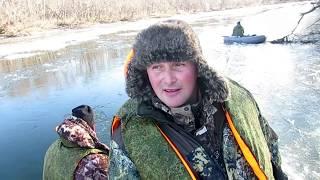 Ловля корюшки на открытой воде в неве