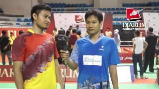 Gambar cover Interview M Nur Roffi  / Achmad Rivai (PB Jaya Raya Jakarta / Bank Sumsel Babel)