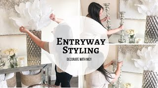 ENTRYWAY STYLING | DECORATE WITH ME