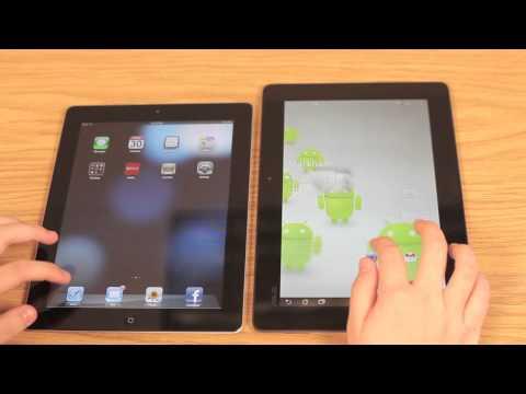 Asus Transformer Prime vs. Apple iPad 2