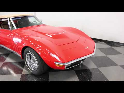 Video of Classic 1971 Chevrolet Corvette located in Texas - $37,995.00 Offered by Streetside Classics - Dallas / Fort Worth - MCB2