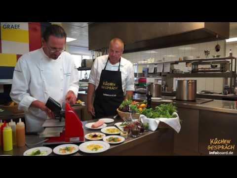 Küchengespräch: Kochen mit dem Graef Sliced Kitchen SKS 900 Allesschneider
