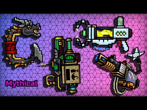 OUROBOROS / EMITTER OF UNCERTAINTY / PORTAL CANNON / SHARP-EYED COURIER - Pixel Gun 3D New Trader