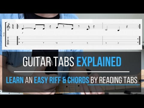 Guitar Tabs Explained | How to Play Guitar Tabs for Beginners ...