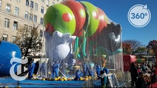 A Macy's Parade Balloon Comes to Life | The Daily 360 | The New York Times