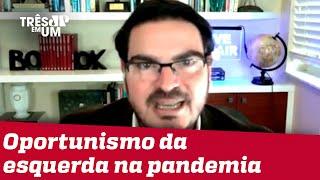 Rodrigo Constantino: Maior partido de oposição ao governo é a mídia