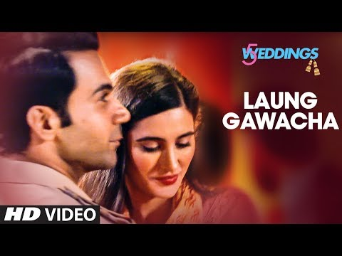 Laung Gawacha Video | 5 Weddings | Raj Kummar Rao, Nargis Fakhri | Saru Maini | ArnieB