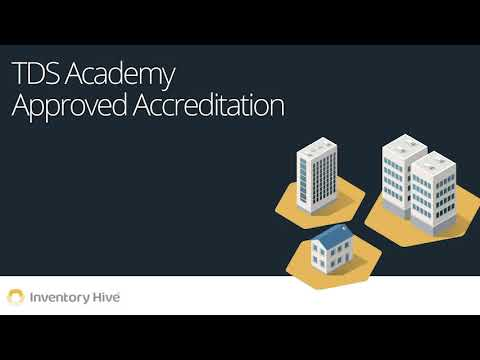 Inventory Hive: TDS Academy Approved Accreditation Launch ...
