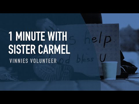 1 Minute with Sr Carmel
