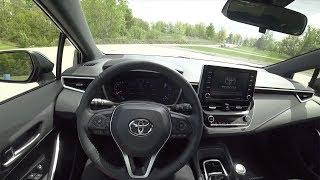 2019 Toyota Corolla XSE Hatchback (6-Speed) - POV First Impressions (Binaural Audio)