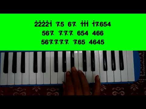 Virgoun - Bukti  - Not Pianika Mp3