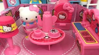 Hello Kitty Petite Playhouse Complete Setup For Tea Parties | Kids Station