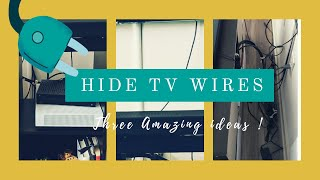 How To Hide TV Wires | Cable Management | DIY Wire Organizer