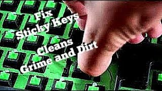 How To Clean Mechanical Keyboards And Fix Sticky Keys |Correctly|