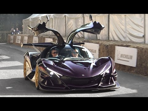Apollo IE Intensa Emozione Driving At Goodwood FoS 2018: Sound, Lovely Crackles & Downshifts!