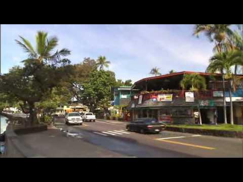 Video Kona Town in Hawaii