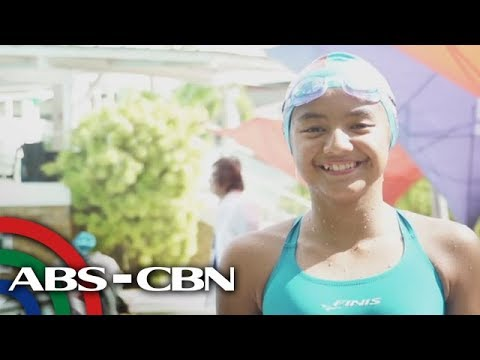 "[ABS-CBN]  Salamat Dok: Kid swimmer Jasmine Modje and the healthy ""Green Juice"""