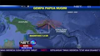 Gempa Papua New Guinea Tak Berdampak Pada Wilayah Indonesia  NET 24