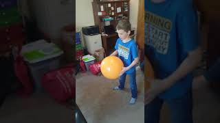 Easter Egg Rhythm Bouncing Ball