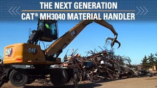 Discover the Cat MH3040 Material Handler