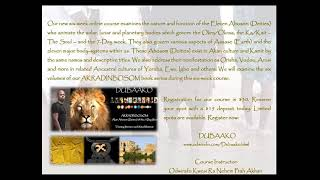 TONIGHT: Our 6 Week Online Course DUBAAKO Starts Tonight   Register Now