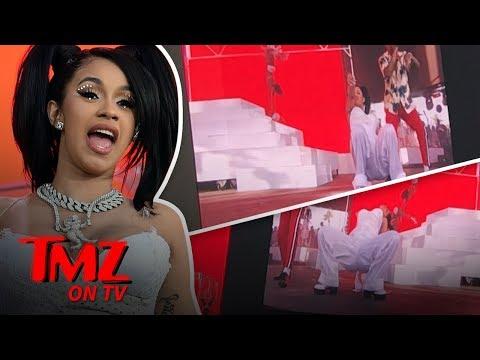 Cardi B Puts On A SHOW At Coachella! | TMZ TV