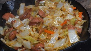 How To Make Fried Cabbage / Ray Mack's Kitchen and Grill