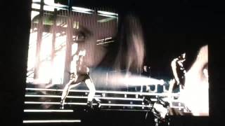 Kylie Minogue - Skirt - Live Projection - Paris Bercy