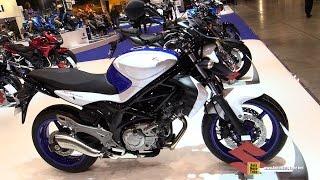 2015 Suzuki Gladius 650 ABS - Walkaround - 2014 EICMA Milan Motorcycle Exhibition