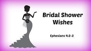 Devotional Diva - Bridal Shower Wishes