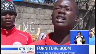 Ugandan stools hits Nakuru town with a storm as furniture business records a boom in the area