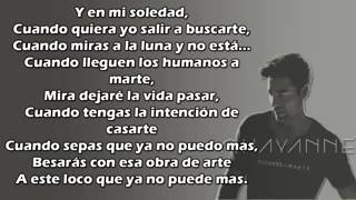 Humanos a Marte Chayanne Letra low