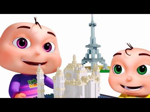 Learn Wonders Of The World | Nursery Rhymes & Kids Songs | Original Learning Songs