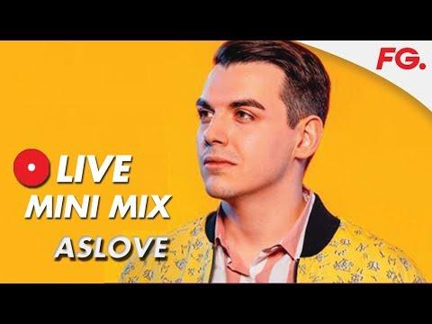 "ASLOVE   LIVE MIX & INTERVIEW   ""Dancing""   RADIO FG"